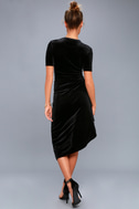 Kaylee Black Velvet Maxi Dress 3