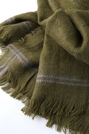 Season of Love Olive Green Scarf 2