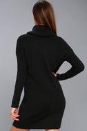 Tea Reader Black Sweater Dress 8