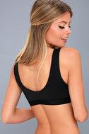 Fernandina Black Bikini Top 2
