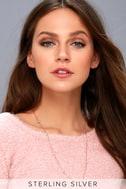 Carolina Rose Gold Rhinestone Necklace 3