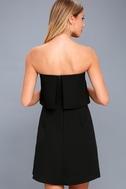 All Night Black Strapless Dress 3