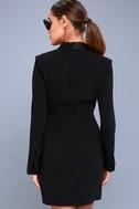 Style Savvy Black Wrap Blazer Dress 3
