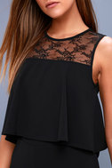 Hollywood Heights Black Lace Jumpsuit 4