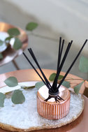 Pink Grapefruit and Prosecco Rose Gold Reed Diffuser 5