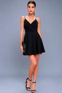 Generosity Black Skater Dress 3