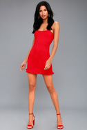 Spoonful of Sass Red Bodycon Mini Dress 2