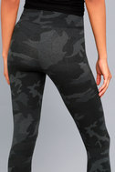 Get in Gear Grey Camo Print Leggings 4