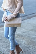 My Love is Your Love Light Blush Clutch 5