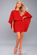 Best is Yet to Come Red Backless Dress 2