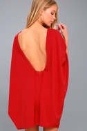 Best is Yet to Come Red Backless Dress 3