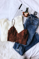 Wrapped in Warmth Cream Knot Back Sweater 6