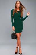 Comeback Baby Forest Green Dress 3