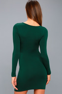 Comeback Baby Forest Green Dress 5