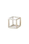 YouCube Silver Square Ring