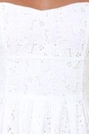 BB Dakota by Jack Patton White Eyelet Lace Dress