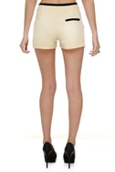 Suit Yourself Beige Shorts