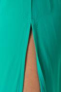 Temptress Teal Maxi Dress
