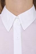 Hottie Under the Collared White Shirt Dress