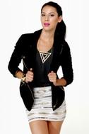 De-velvet-ishly Good Black Velvet Jacket