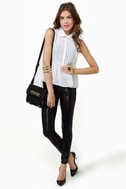 Blank NYC Spray On Black Sequin Jeggings