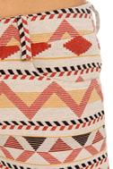 BB Dakota Hayley Southwest Print Shorts