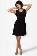 BB Dakota by Jack Vickie Black Dress