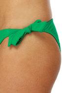Money Honey Green Bandeau Bikini