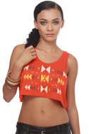 WkShp Sioux Falls Orange Crop Top