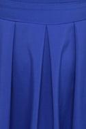 Girlfriend Material Cobalt Blue Dress