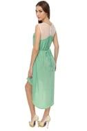 Woodland Frolic Mint Green Dress