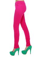 Moves Like Jagger Fuchsia Pink Jeggings