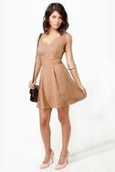 Los Low-Bows Blush Dress