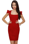 Fab Forties Red Dress