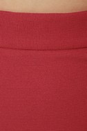 Elle Woods Berry Red Pencil Skirt