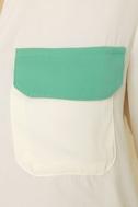 Craft Fair Cream Button-Up Top