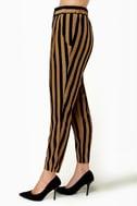 Taper Trail Striped Harem Pants