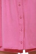 Half Skort Shot Pink Romper