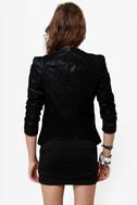 Like a Boss Black Sequin Blazer