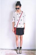 Be a Lamb Cream Sparkle Sweater