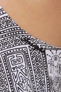 Insight Tribal Grunge Print Dress