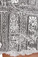 Insight Tribal Grunge Low Rider Print Shorts