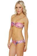 Insight Psych Floral Bandeau Bikini
