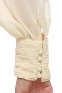 Post Meridian Beaded Cream Top