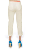 Status Quo Cropped White Pants