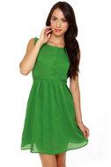Tulle Emerald City Green Dress