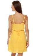 Tulle Tally Me Banana Yellow Dress