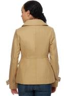 Tulle Fire Lookout Khaki Wool Coat