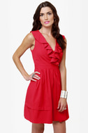 Frilly the Kid Red Dress