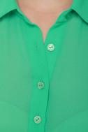 Just Desserts Mint Green Tunic Top